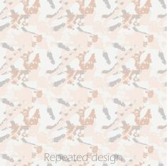 Repeated pattern for textile print design, inspired by painting