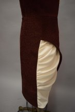 dress skirt side