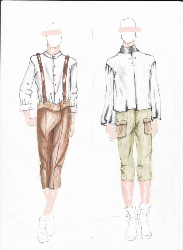 Menswear Illustrations